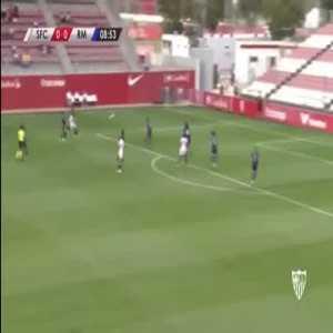 Sevilla W [1] - 0 Real Madrid W - Inma Gabarro great goal 9'