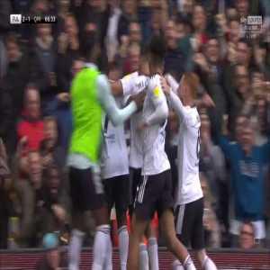 [@SkyFootball] Fulham (2) - 1 QPR: Mitro '67