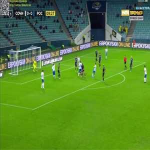 Sochi 1-0 FK Rostov - Artur Yusupov 10'