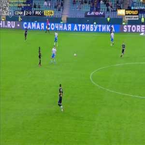Sochi 3-0 FK Rostov - Mateo Cassierra 33'
