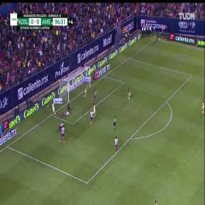 Atletico San Luis 0 - [1] America - 90+7 Roger Martinez