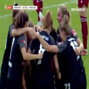 Frankfurt W [1] - 0 Bayern München W - Shekiera Martinez 68'
