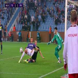 Trabzonspor [2]-1 Fenerbahce - Anastasios Bakasetas penalty 87'