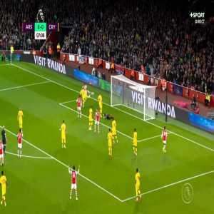 Arsenal 1-0 Crystal Palace - Pierre-Emerick Aubameyang 8'