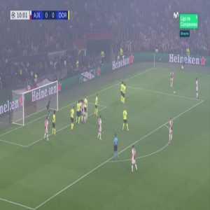 Ajax [1] - 0 Dortmund - Dušan Tadić 11'