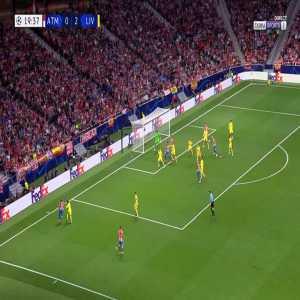 Atlético Madrid [1]-2 Liverpool - Antoine Griezmann 20'