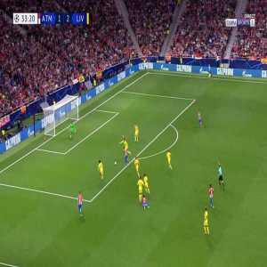 Atlético Madrid [2]-2 Liverpool - Antoine Griezmann 34'