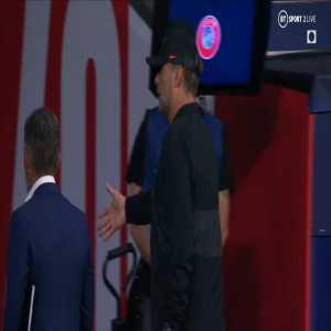 [BTSport] Video: Simeone leaves Klopp hanging after match