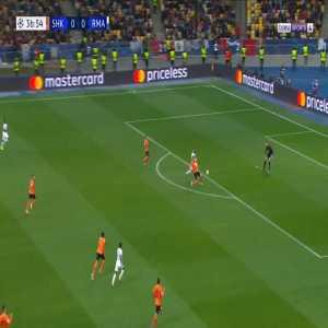 Shakhtar 0-1 Real Madrid - Sergiy Kryvtsov OG 38'