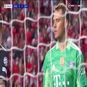 Benfica - Bayern München - Manuel Neuer great save 55'
