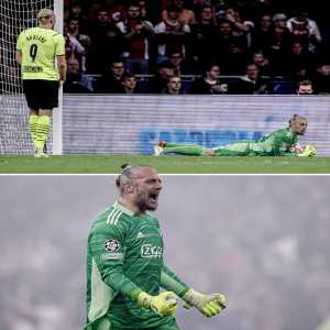 [ESPNFC] 37-year-old Remko Pasveer is the first and only goalkeeper to save three of Erling Haaland's shots on target in a single Champions League match 😳👏