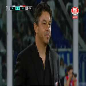 Felipe Peña (River Plate) straight red card against Talleres 7'