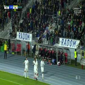 Radomiak Radom 1-0 Górnik Łęczna - Karol Angielski 25' strange goal (Polish Ekstraklasa)