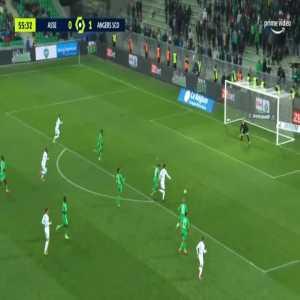 Saint-Étienne 0-2 Angers - Angelo Fulgini 56'