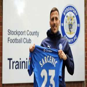 [Stockport County] announce Bolton captain Antoni Sarcevic has joined on a free transfer
