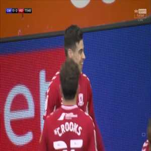 Cardiff 0-2 Middlesbrough- Martín Payero