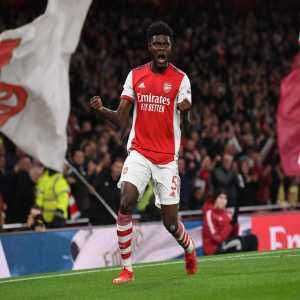 [Premier league] Thomas Partey is the first Ghanaian to score for @Arsenal in the #PL, with the Gunners netting more goals via African players in the competition than any other side (219) #ARSAVL