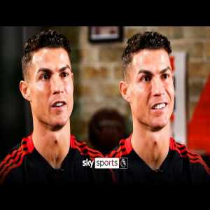 "[Sky Sports Football] ""Man Utd need time, but my level can go higher"" Ronaldo on Man Utd, retiring & achieving more"
