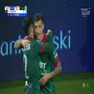 Wisła Kraków 0-1 Śląsk Wrocław - Erik Expósito 7' (Polish Ekstraklasa)