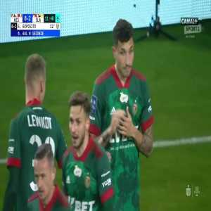 Wisła Kraków 0-2 Śląsk Wrocław - Erik Expósito 12' (Polish Ekstraklasa)