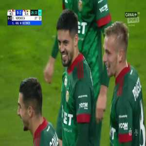 Wisła Kraków 0-3 Śląsk Wrocław - Diogo Verdasca 27' (Polish Ekstraklasa)