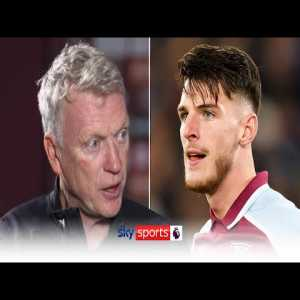 '£100m for Declan Rice was a bargain, now that is GONE!' | David Moyes on West Ham's progress