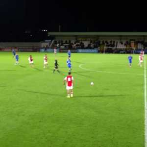 [Arsenal Academy] That footwork from Salah!