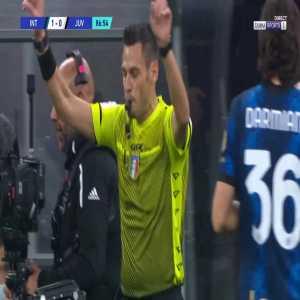 Inter 1-[1] Juventus - Paulo Dybala penalty 89' (+ call)