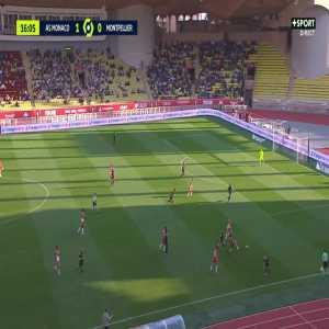 Monaco 2-0 Montpellier - Wissam Ben Yedder 17'