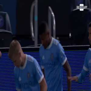 New York City 1-0 DC United - Thiago Andrade 1'