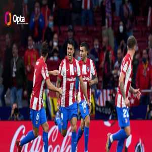 [OptaJose] Atletico Madrid have won more points from losing positions than any other side in the top five European leagues in 2021 (25) and they've won the most points after conceding the first goal of the game in La Liga this season (8).
