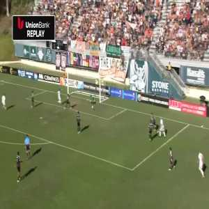 San Diego Loyal [1] - 0 Oakland Roots - Augustine Williams 17'