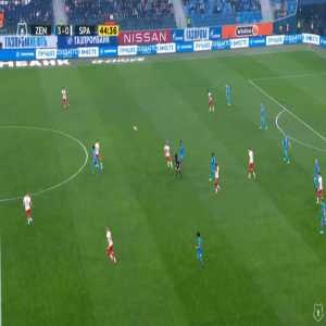 Zenit 4-0 Spartak Moscow - Andrey Mostovoy 45'