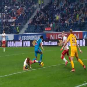 Zenit [6]-1 Spartak Moscow - Artem Dzyuba penalty 79'