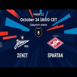 Zenit St. Petersburg vs Spartak Moscow streaming for free at 18:00 CET