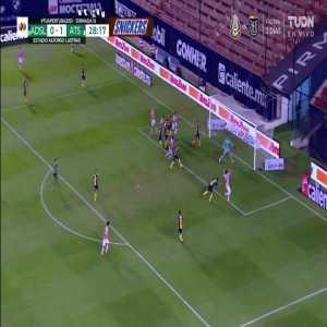 Atletico San Luis 0 - [2] Atlas - Mexican League - 29' Hugo Nervo