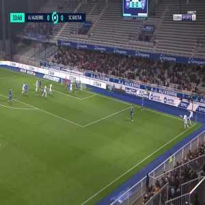 Auxerre 1-0 Bastia - Birama Toure 34'