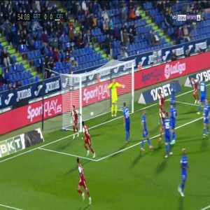 Getafe 0-1 Celta Vigo - Santi Mina 55'