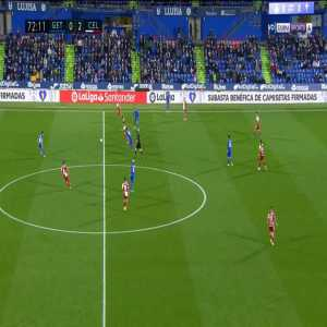Getafe 0-3 Celta Vigo - Santi Mina 73'