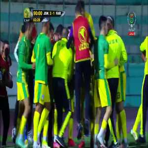JS Kabylie [2]-1 FAR Rabat (CAF Confederation Cup) - Ali Haroun goal in the 90th minute from inside his own half