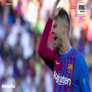 [RNMJ TV] Vinicius receiving 66 middle fingers from the first few rows of Camp Nou after being subbed off in El Clasico.
