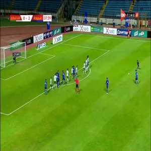 Smouha SC [3] - 0 Ittihad - Mohamed Shokry (Great Freekick)