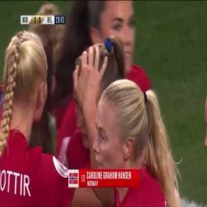 Norway W [2] - 0 Belgium W - Caroline Graham Hansen great solo goal 30'