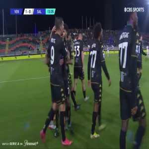 Venezia 1-0 Salernitana   Mattia Amaru 14' (great team goal)