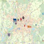 Football Maps of Dublin, Lisbon, New York, Santiago de Chile, etc.