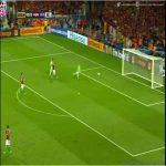 Carrasco goal v Hungary (4-0)