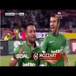 Wanderson goal to make 2-1 for Ludogorets against Red Star (Champions League 3rd round)