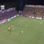Takuya Kida goalline clearance vs Kashiwa Reysol