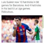 Luis Suarez is a monster.