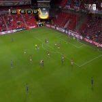 Giuseppe Rossi (Celta Vigo) goal against Standar Liege (1-1)